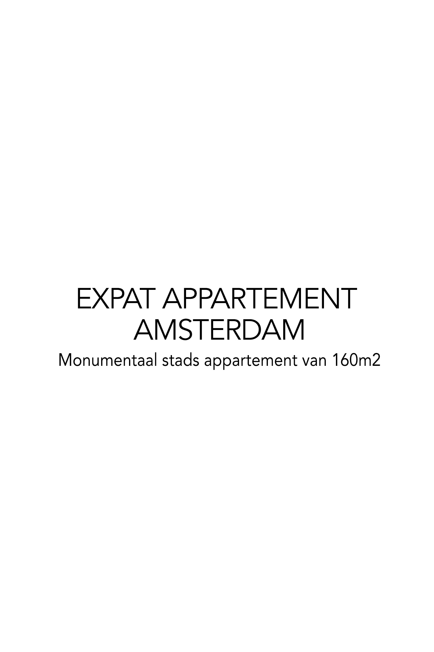 EXPAT APPARTEMENT AMSTERDAM